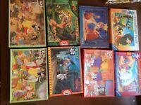 Disney Jigsaw Puzzles - £1 each
