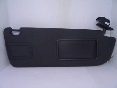 *AUDI A6 C6 2004-2011 BLACK DRIVER RIGHT SUN VISOR WITH LOOM 4F0857552K