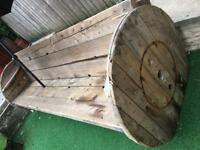 9ft handmade garden bench