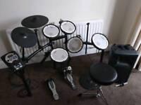 Rowland electric drum set