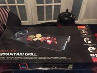 Non stick teppanyaki grill new