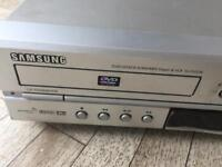 VHS and DVD Player