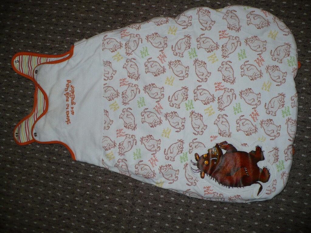 Gruffalo grobag/ sleeping bag for 0-6mths, 2.5tog. VGC! Boy/ Girl.