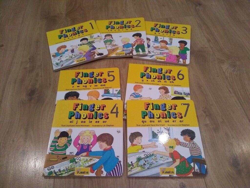 Jolly Finger Phonics Books 1-7 | in Cambridge, Cambridgeshire | Gumtree