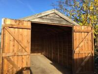 Shed 18ft x 8ft (6m x 2.4m)