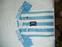 Youth Football Shirt Argentina Messi 11-12 Great Condition Bargain