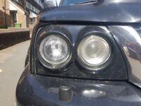 Mitisbishi l200 k74 morrett head lights.