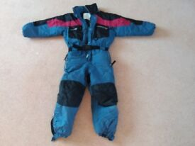 Boys Ski Suit Age 7