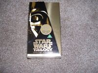 Special Edition Star Wars Trilogy VHS 1997 - Very Good Condition
