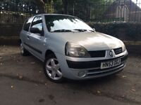 2003 RENAULT CLIO EXPRESSION... ** Full Service History ** Cheap Insurance ** New MOT **