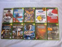 Xbox Original Game Bundle x 10 (B)