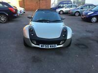 £1,995 | Smart Roadster 0.7 Targa 2dr Model year: 2005 (55)