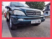 7 Seater --- Mercedes Benz M Class 2.7 ML 270 CDi --- DIESEL Automatic ---- ML270 - alternate4 x5 q7