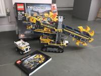 Lego Technic Bucket Wheel Excavator 42055 with power functions