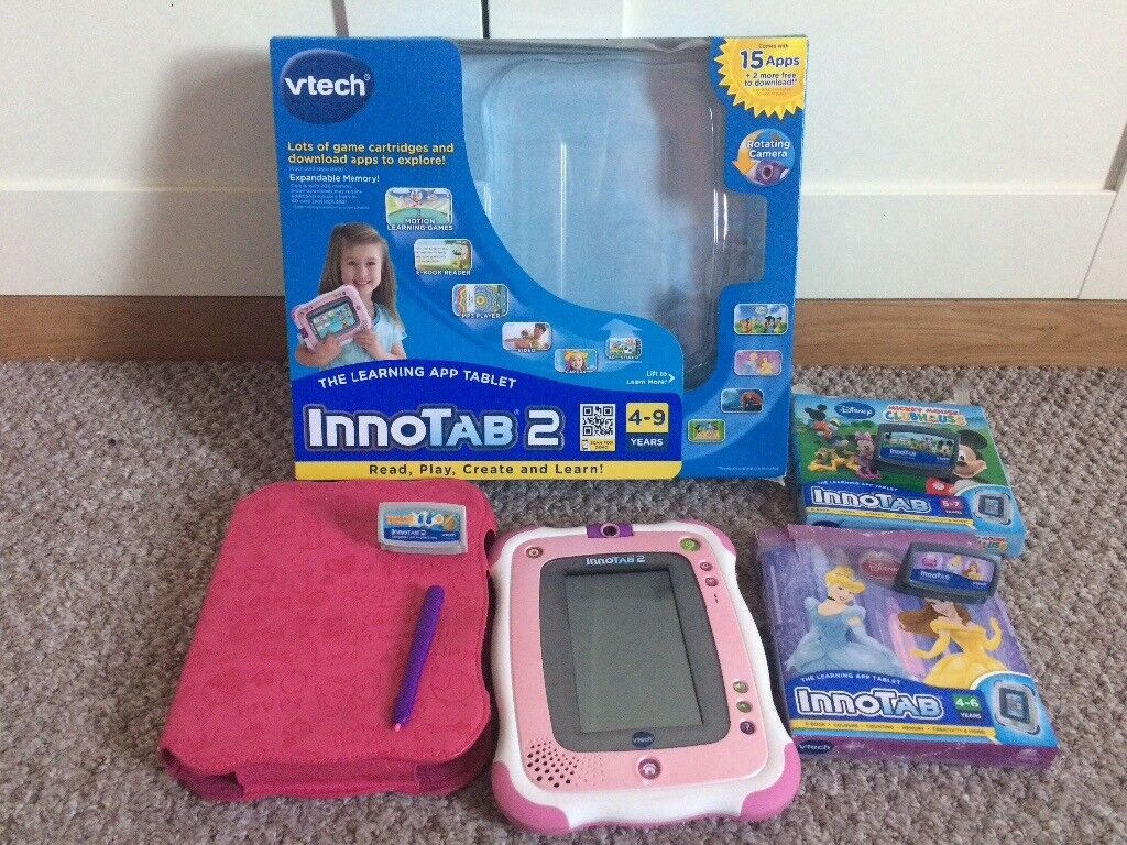 Innotab 2 case and 3 games
