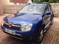 Dacia Duster LAUREATE. Cheapest Laureate under 50,000 miles. Cheap runner and well looked after. SUV
