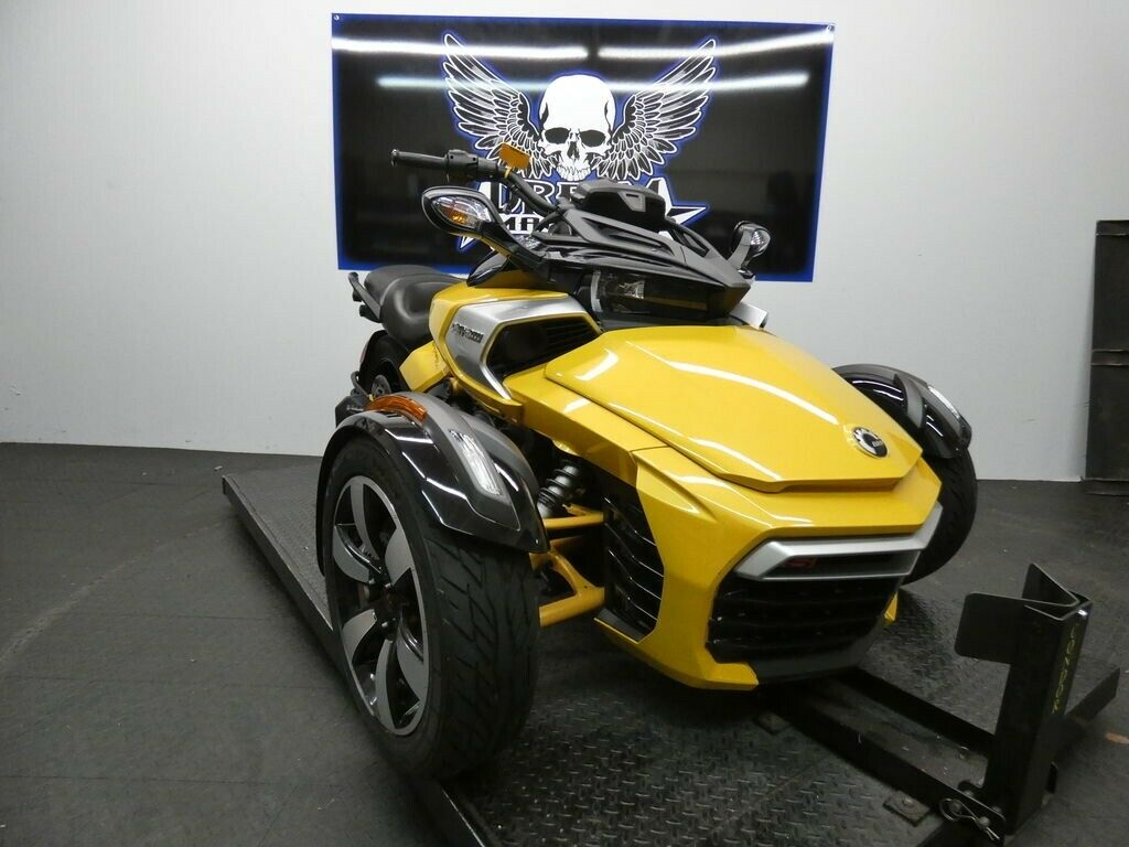 Dream Machines of Austin  2018 Can-Am Spyder F3-S 6-speed semi-automatic with re