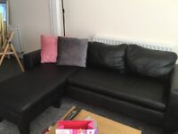 Chaise lounge sofa, immaculate condition