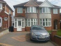 3 BED HOUSE TO LET HAYCROFT AVENUE B8 3LA