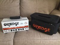 "Orange Dual Terror Amp with 12"" celestion Speaker. Amp needs minor repair but still works great!"