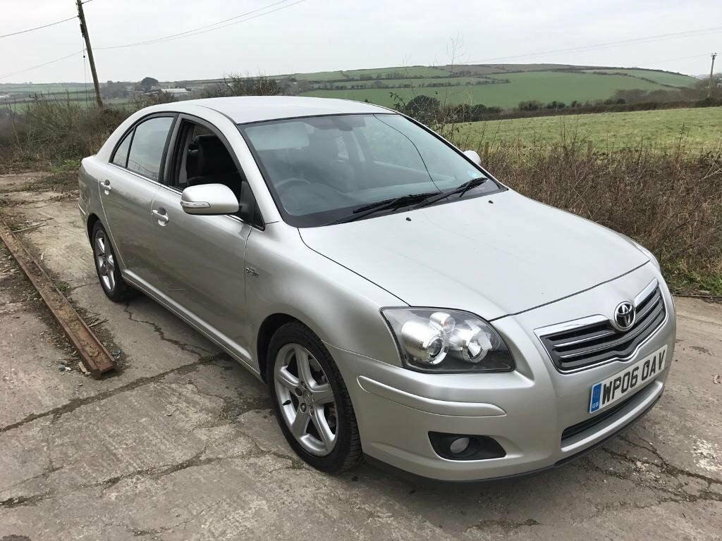 toyota avensis 2 2 d4d t180 5dr silver 2006 diesel in newquay cornwall gumtree. Black Bedroom Furniture Sets. Home Design Ideas
