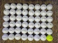 48 Dunlop golf balls in absolute immaculate condition, tour soft, ddh, loco, sport