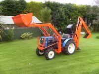 Iseki 2160 4x4 Compact Tractor