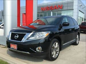 2013 Nissan Pathfinder Platinum, BOSE, Bluetooth, power tailgate