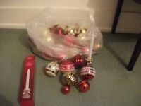 Christmas Tree Decorations / Candle Decoration