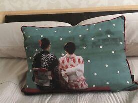 Geisha/Oriental Style Cushion