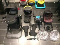 Graco Evo XT 3 in 1 baby complete travel system