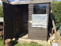 Small Garden Shed elderly but serviceable.