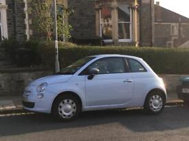 Fiat 500 Pop 2009 Pale Blue