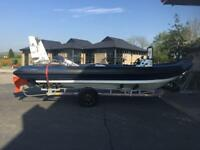 Rib boat 23ft chinook