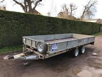 Ifor Williams 16ft 3.5 tonne dropside trailer