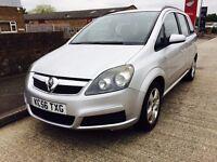 7 seater Vauxhall zaferia 12 months mot