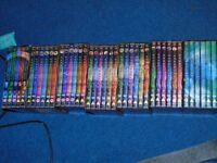 dvds box sets of stargate full lot seasons 1to 8
