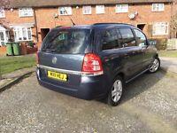 2011 Vauxhall Zafira Exclusive 1.7 CDTI 16v Manual Ecoflex - 7 Seater MPV