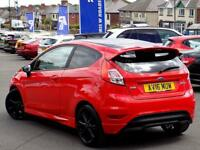 FORD FIESTA 1.0 ZETEC S RED EDITION 3dr (140) ** Sat Nav + 1 Private Owner ** (red) 2016