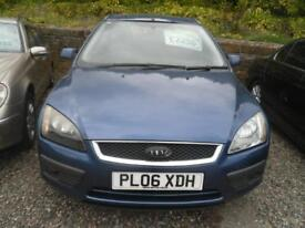 FORD FOCUS 1.6 Zetec 5dr Auto [Climate Pack] AUTOMA low mileage example, MOT MAY 2019 (blue) 2006