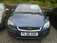 FORD FOCUS 1.6 Zetec 5dr Auto [Climate Pack] AUTO low mileage example, FULL YEARS MOT (blue) 2006