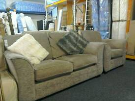 2 Seater sofa and armchair #28419 £149