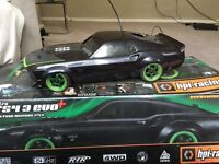 RC NITRO FORD MUSTANG HPI RACING