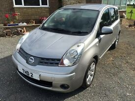 nissan note tekna for sale