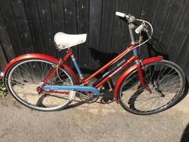 Vintage BSA Bermuda Ladies Town Bike. Serviced, Stunning Condition, Free Lock, Lights, Delivery
