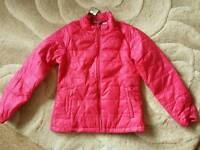 BNWT Girl's Lightweight Thermal Jacket 9-10years up to 140cm