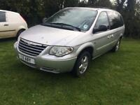 Chrysler grand voyager stow and go 2008