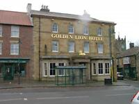 Golden Lion, Loftus-in-Cleveland, Saltburn TS13 4HG. Single Manager or Management Couple Required.