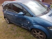 AUDI A2 1.6 FSI BREAKING WHOLE CAR FOR SPARES