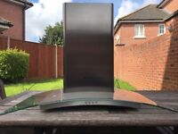 Hotpoint curved cooker hood